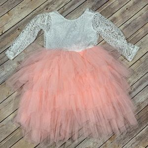 Other - Toddler lace tutu dress size 4t